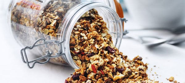 Hemgjord granola a´la Nathalie