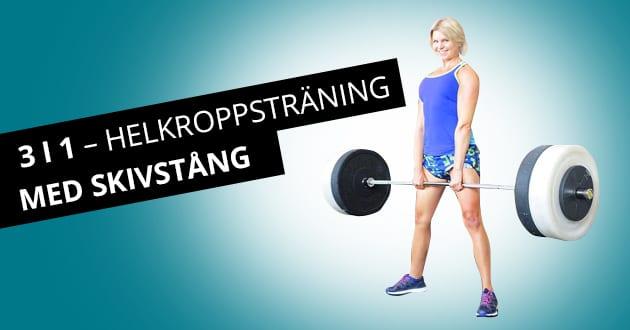 Så bygger du styrka i hela kroppen med en övning