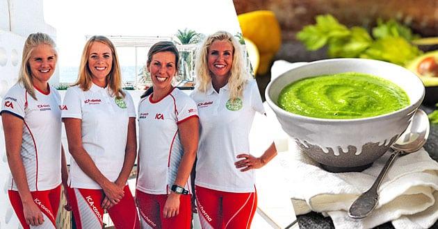 Morgonträna och ät frukost i Almedalen + recept på grön smoothie bowl