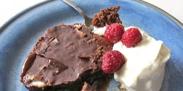 Kladdiga brownies utan socker
