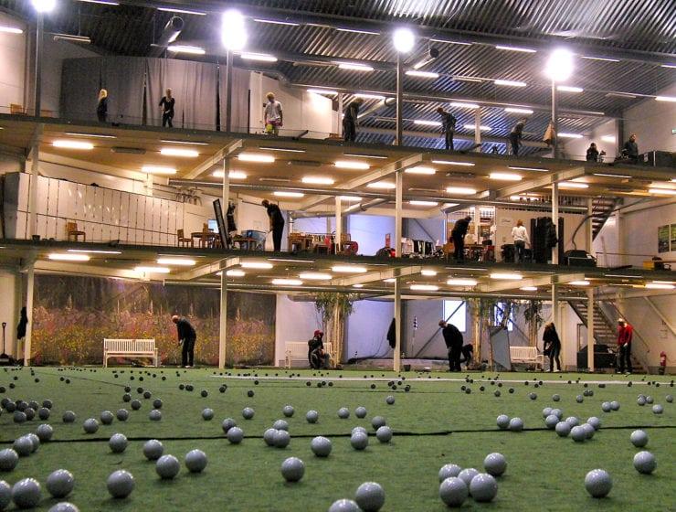 Barkarby Golfhall – passa på och vässa golfen inomhus