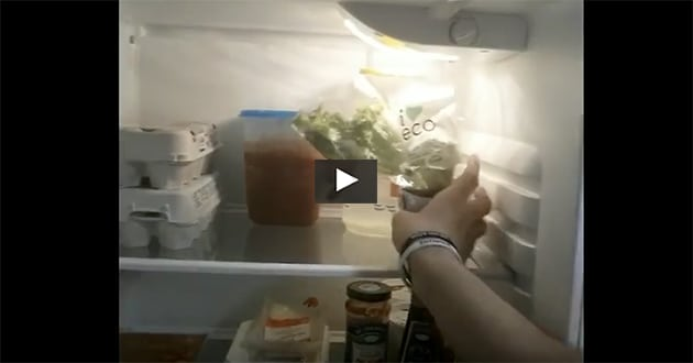 Bra mat att ha i kylen – kostexperten guidar