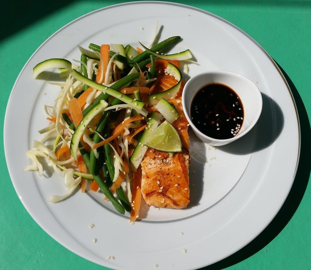 Recept: Asiatisk laxfilé