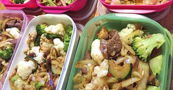 Storkok med Nathalie - 2 förslag till veckans matlådor