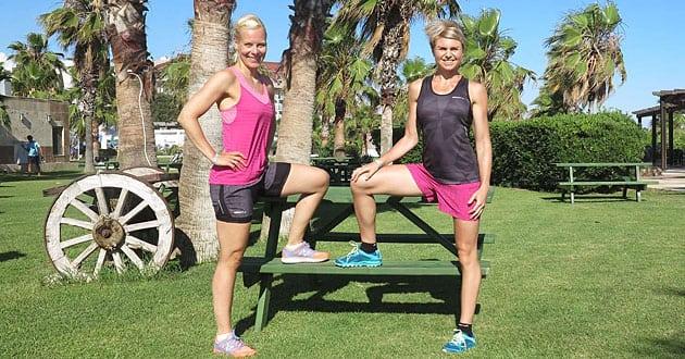 Träningsprogram vecka 25 - 6 övningar på en bänk