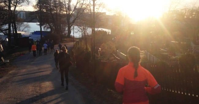Gratis löpargrupp i Stockholm