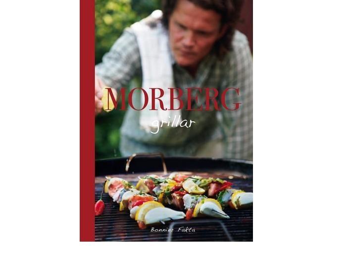 Morberg grillar i sin nya bok