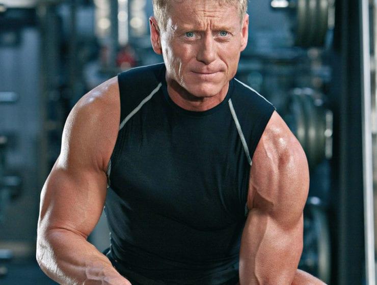 Träning för män som fyllt 40 år