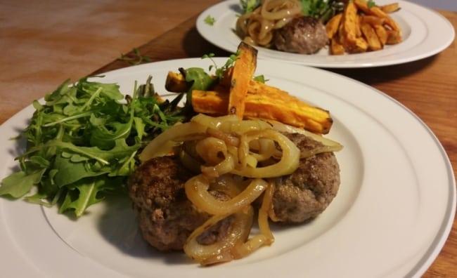 Recept under 500 kalorier – Pannbiff