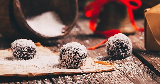 Recept: Raw food pepparkaksbollar