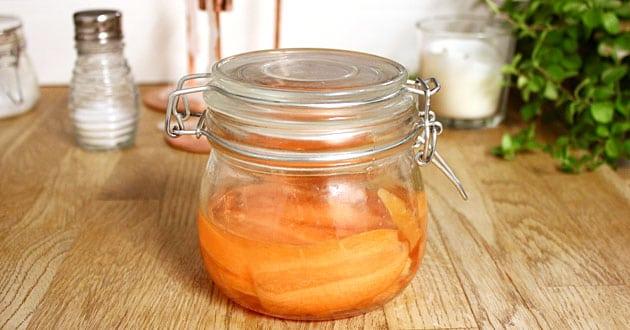 Picklade morötter - enkelt recept