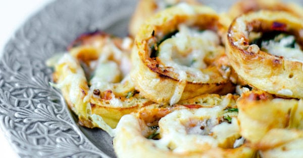 Pizzabullar med fetaost – LCHF-recept a´la Åse