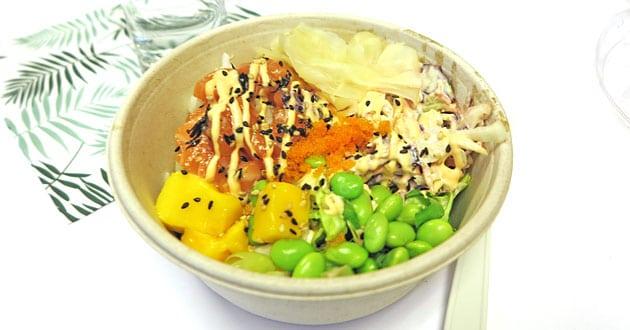 Fixa egen trendig Poké bowl