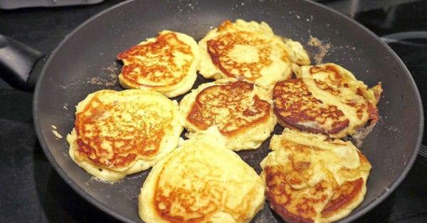 Potatisplättar - dagens snabba recept av rester