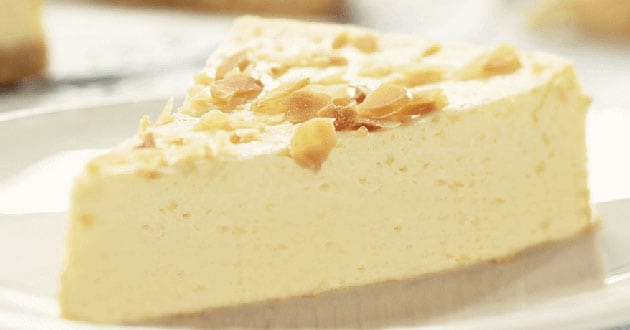 Proteinrik cheesecake med banan