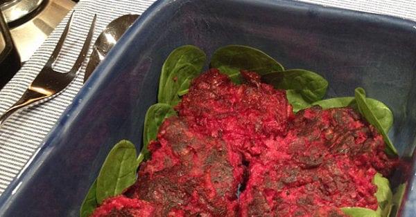 Recept: Nyttiga rödbetsbiffar