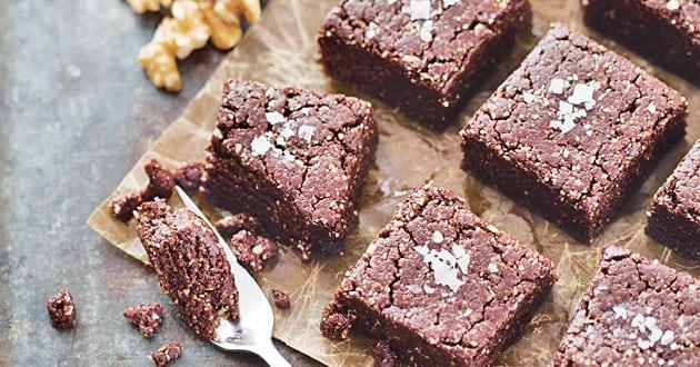 Raw brownie - recept på enkel
