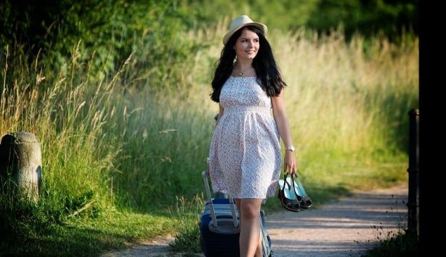 Sex hälsofördelar med att resa ensam