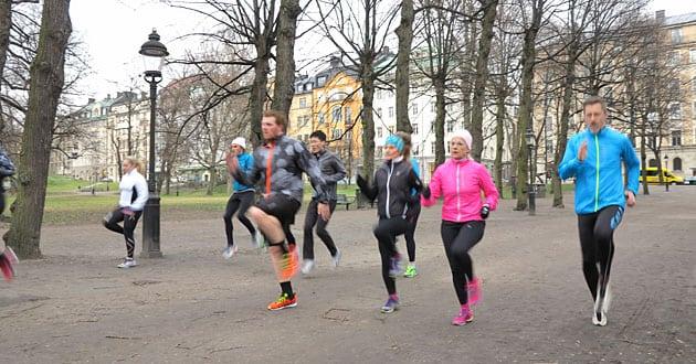 Smart planering av löpning
