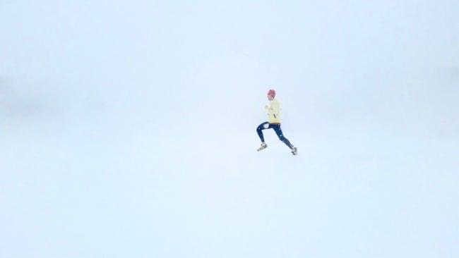 Låt inte snö och kyla stoppa dig – spring ändå!