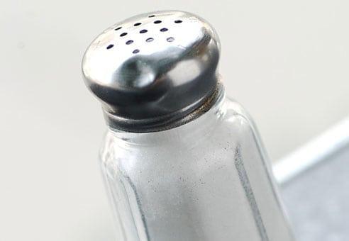 Mycket salt kan leda till stroke