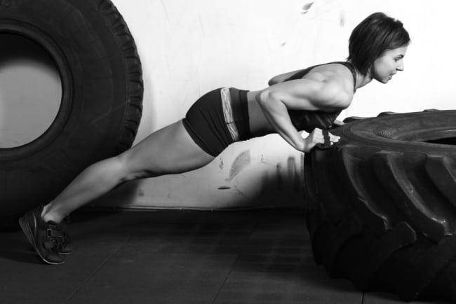 Träning med kroppen som vikt