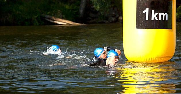 Armtag och andning – simma i öppet vatten