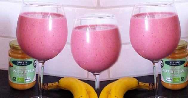 Recept: Godaste jordgubbssmoothien