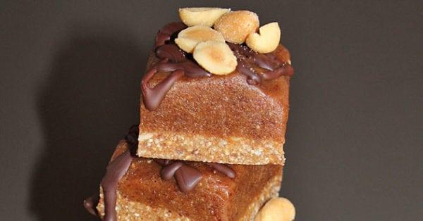 Snickersrutor – recept från Hanna´s Kitchen
