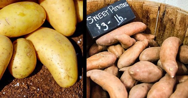 Sötpotatis – nyttigare än vanlig potatis