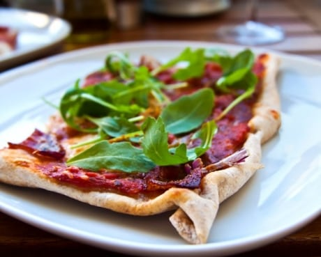 Recept - rustik surdegspizza