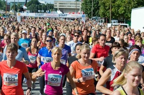 22 638 sprang Tjejmilen i Stockholm