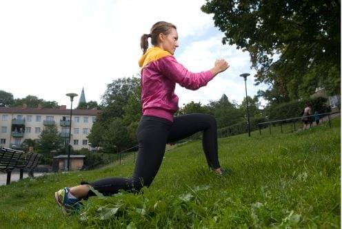 Prova Nike get fit och Outdoor Tabata i maj
