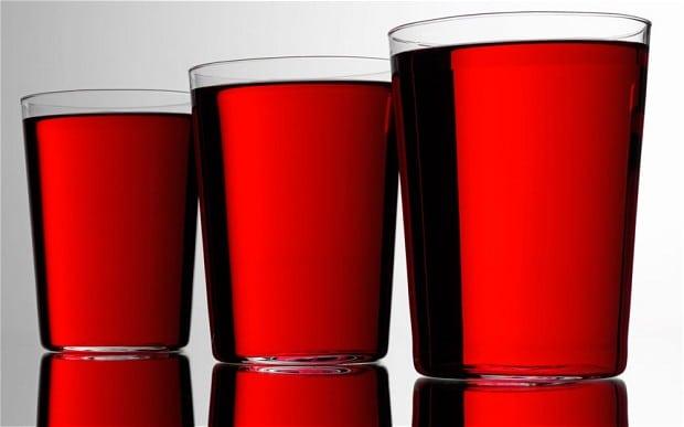 Tranbärsjuice hjälper inte mot urinvägsinfektion