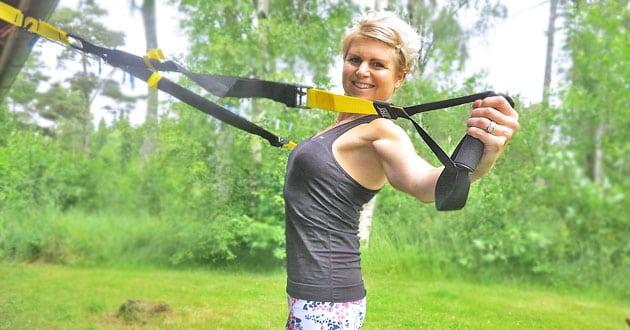 Helkroppspass med TRX – film och träningsupplägg vecka 26