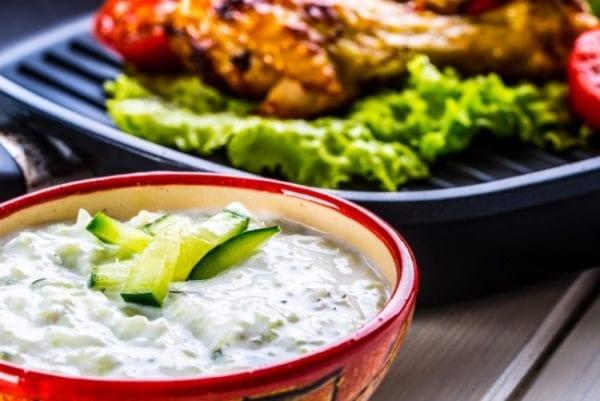 Recept: Tzatziki på kvarg