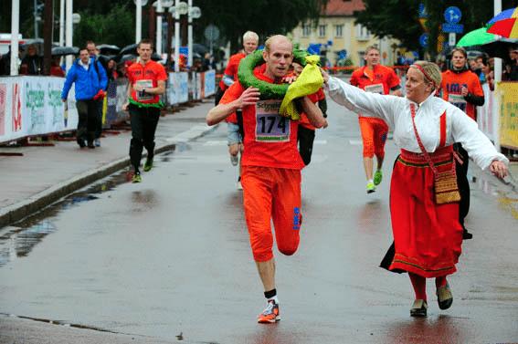 4000 löpare sprang Vasastafetten