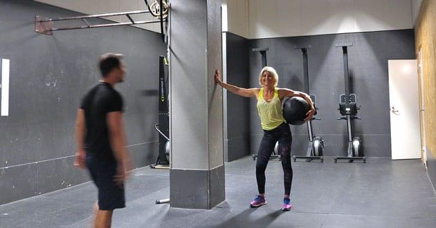 Teknikfilm för effektiva Wall Ball shots