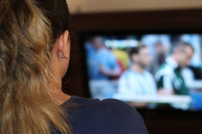Är det hälsosamt att se sport på TV?