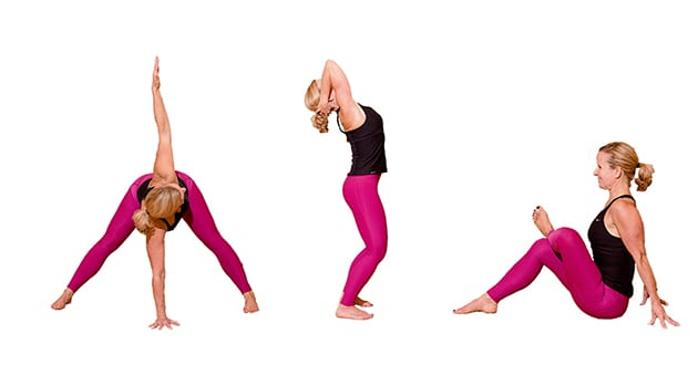 5 yogaövningar för bättre kroppskontroll