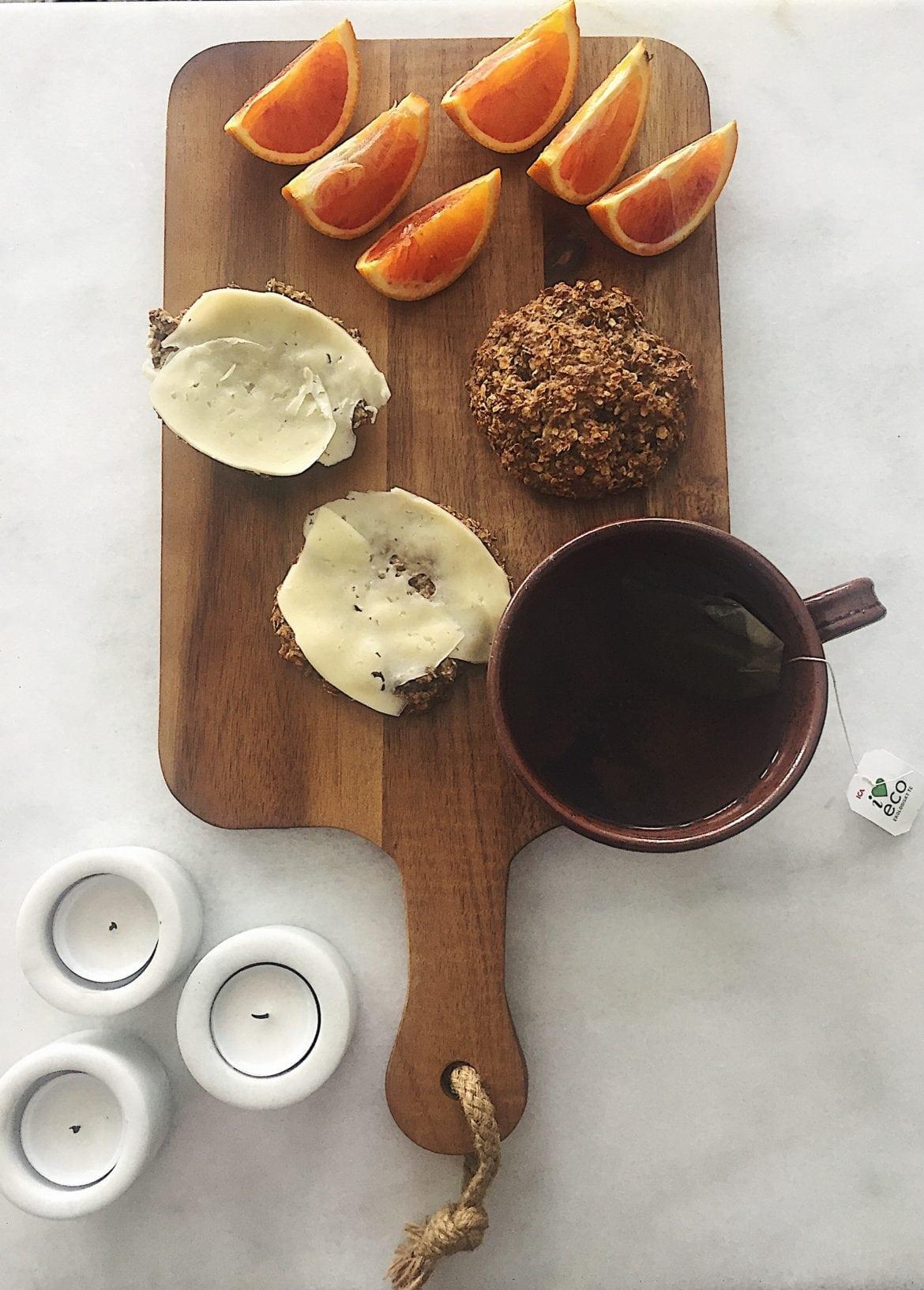 Bananscones med kanel och kardemumma
