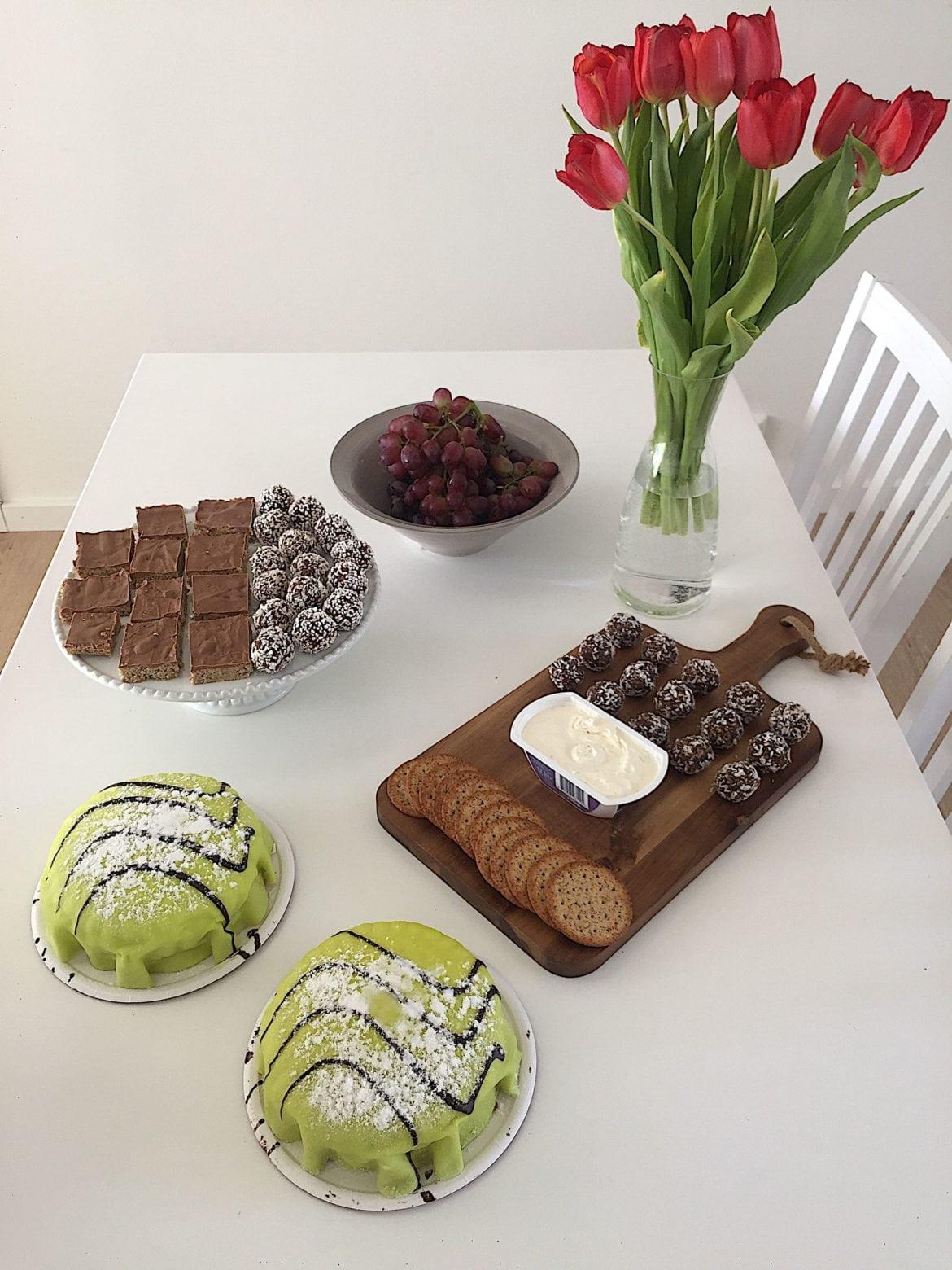Dadelbollar, sockerfria chokladbollar, nougatrutor