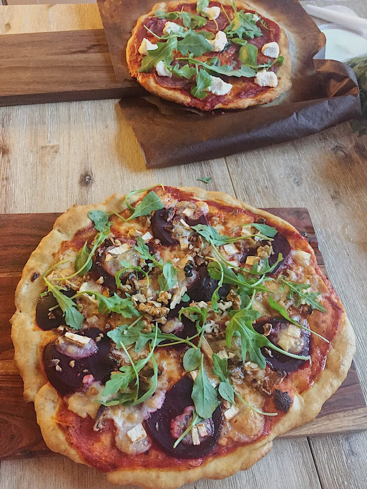 hemmagjord pizza