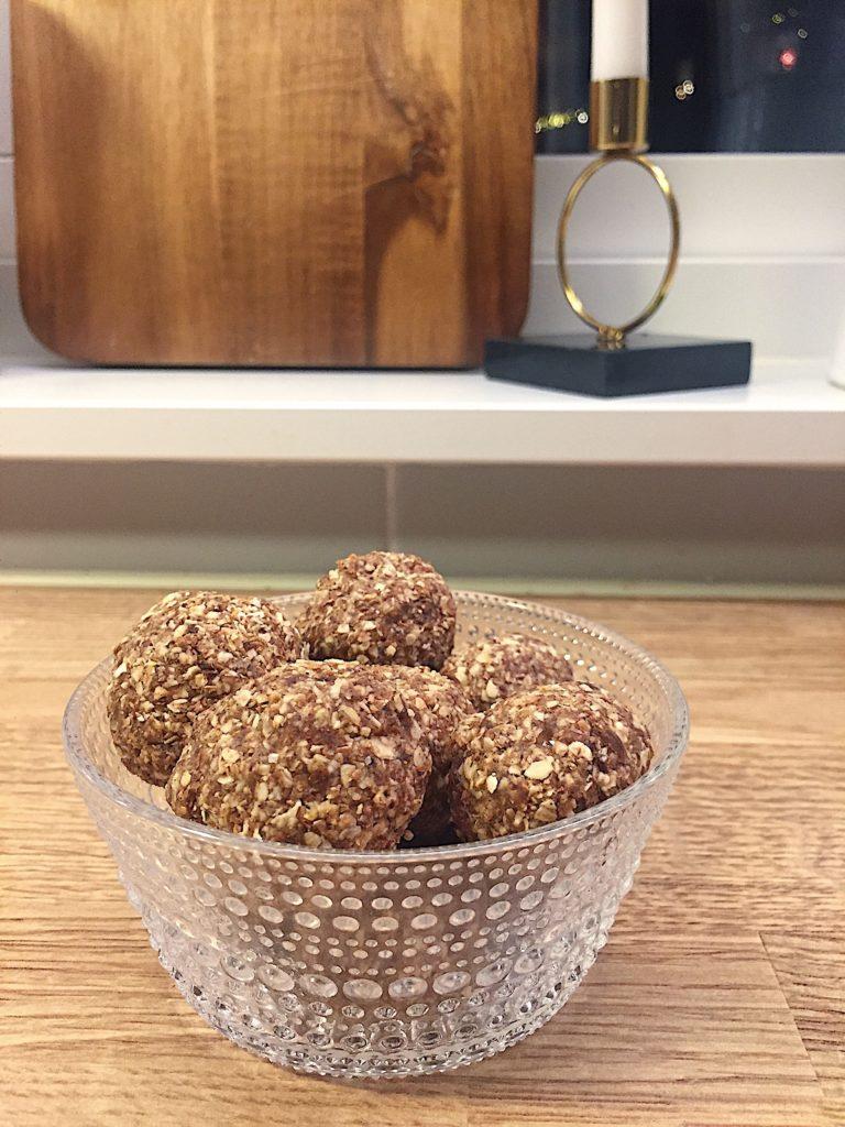 6 recept til advent - nyttiga pepparkaksbollar