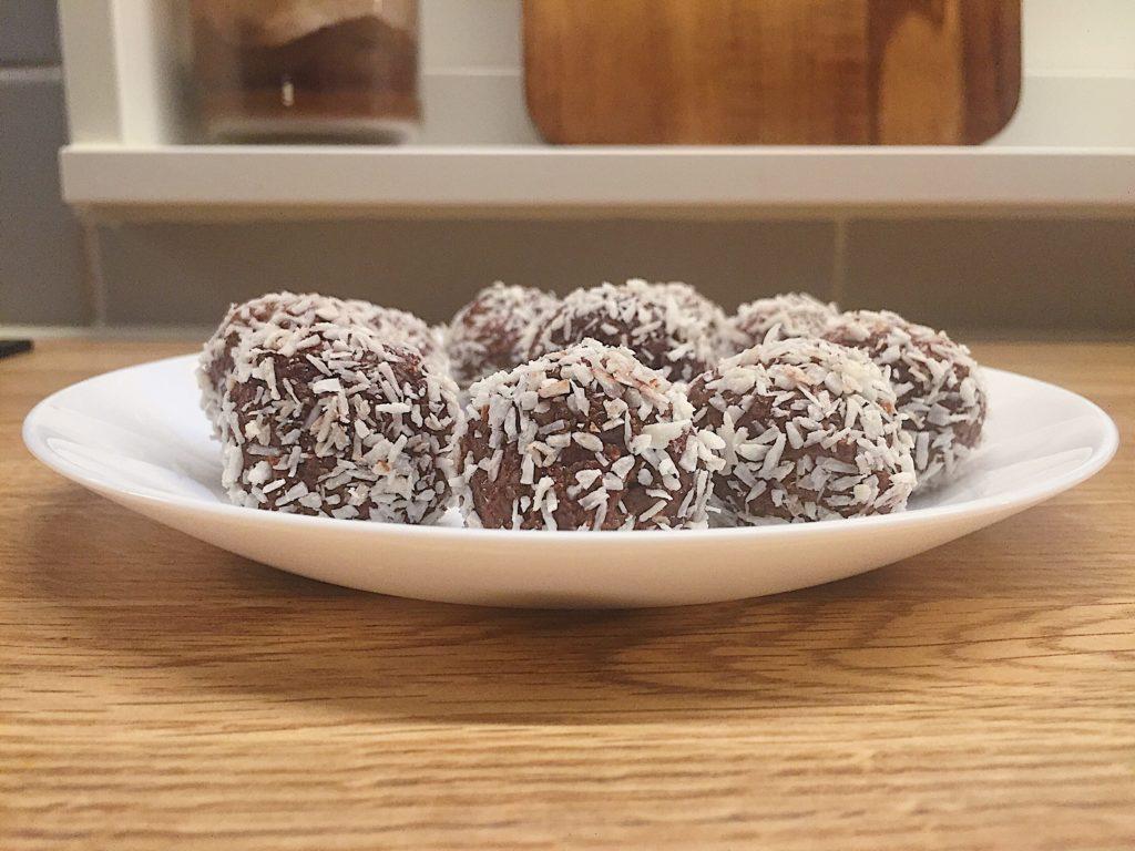Nyttiga chokladbollar (utan dadlar)