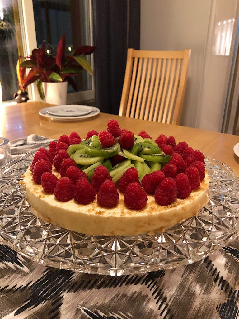 Helgen i bilder - cheesecake