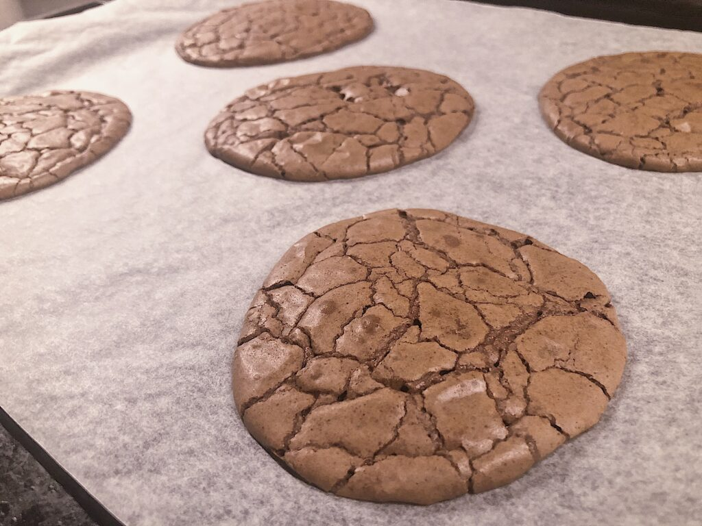 brownie cookies Fridas bakblogg