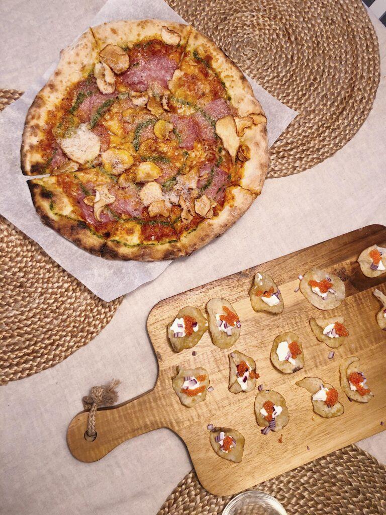Pizza från Bodegan