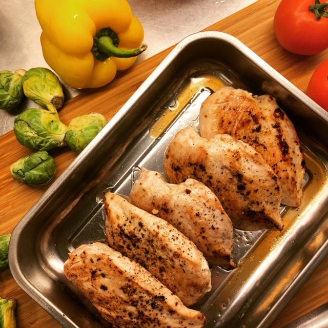 lättlagad middag kycklingfile