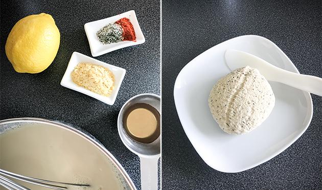 göra egen ost recept